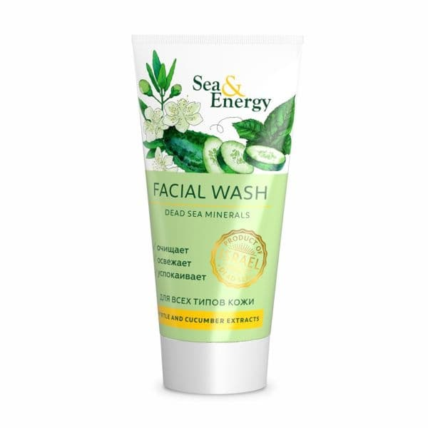 Facial Wash with Myrtle  Cucumber Extracts