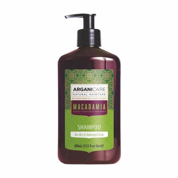 Macadamia Shampoo for Dry  Damaged Hair with Argan and Macadamia Oils