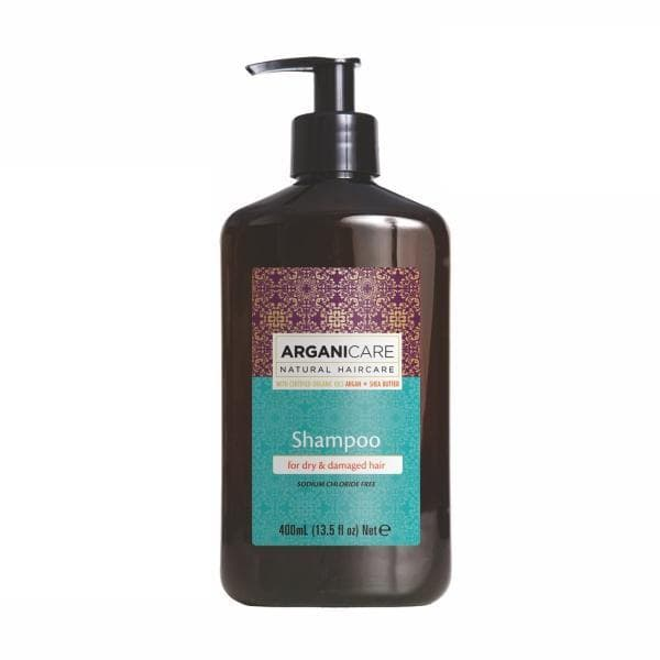 Shampoo for Dry  Damaged Hair with Argan Oil and Shea Butter