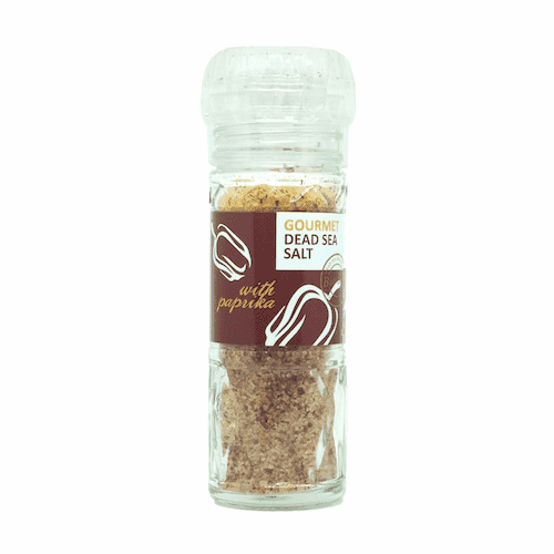 Bio Salt Spiced Salt with Sweet Paprika for Cooking 110g