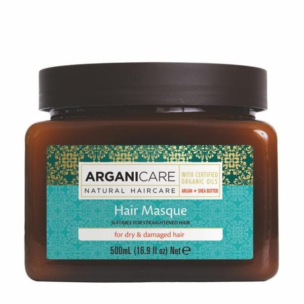 Hair Masque for Dry  Damaged Hair with Argan Oil and Shea Butter