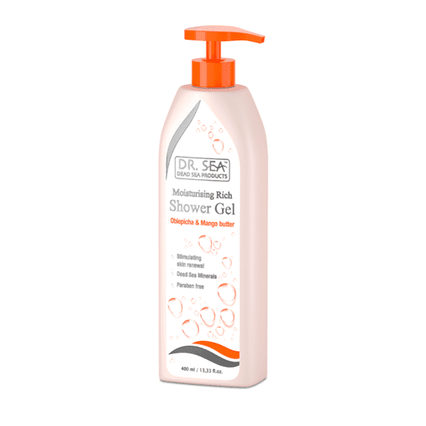 Moisturizing Rich Shower Gel with Sea Buckthorn  Mango 400ml