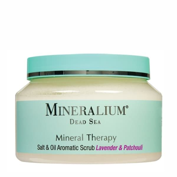 Mineral Therapy Salt Scrub Lavender  Patchouli
