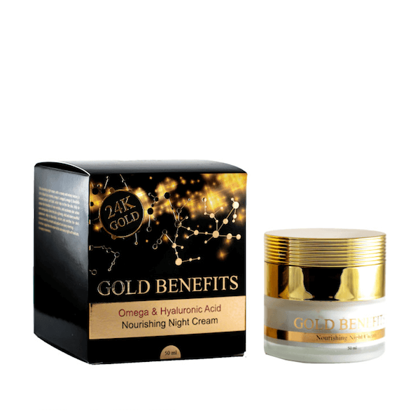 Gold Benefits  Nourishing Night Cream