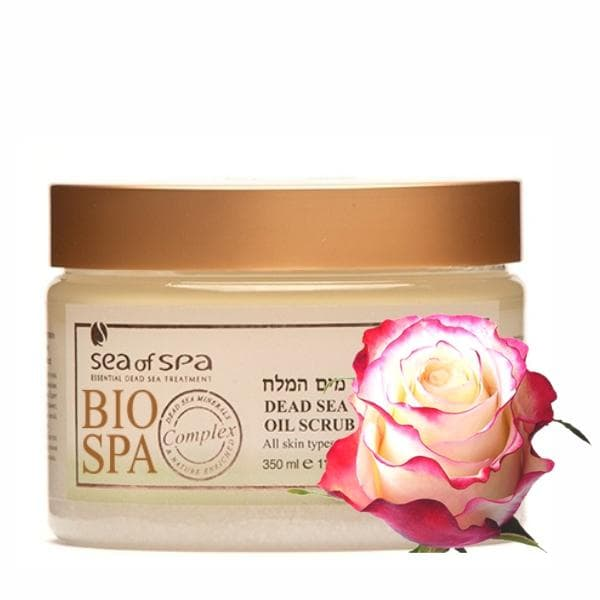 Bio Spa  Dead Sea Aromatic Oil Scrub Rose