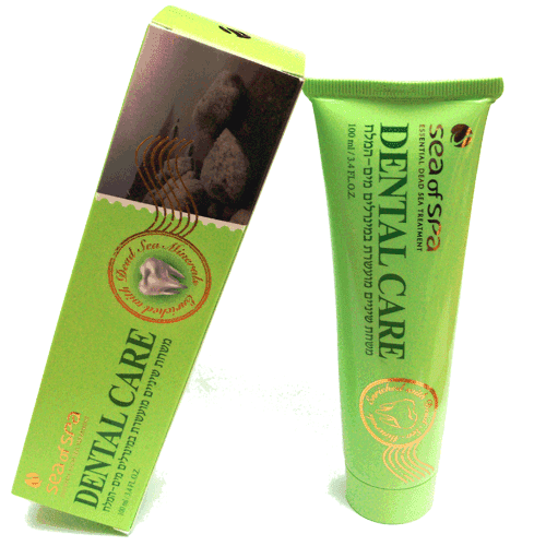Dental Care  Toothpaste with Dead Sea Minerals