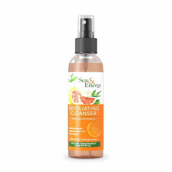 Exfoliating Сleanser with Yellow Grapefruit and Myrtle Extracts