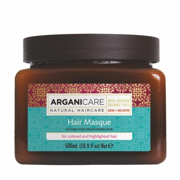 Hair Masque for Coloured  Highlighted Hair with Argan Oil and Shea Butter