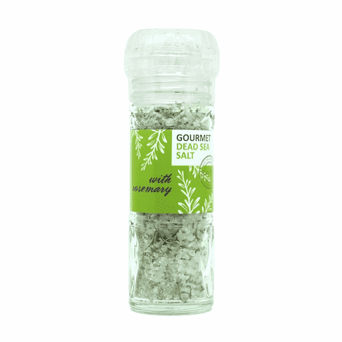 Bio Salt Spiced Salt with Rosemary for Cooking 110g