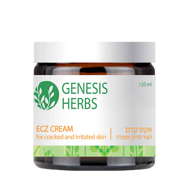 Genesis Herbs  Ecz Cream for Cracked and Irritated Skin