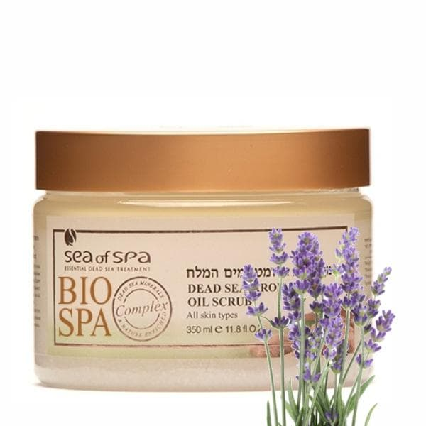 Bio Spa  Dead Sea Aromatic Oil Scrub Lavender
