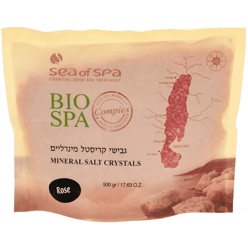 Bio Spa  Mineral Salt Crystals Rose