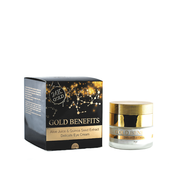 Gold Benefits  Delicate Eye Cream