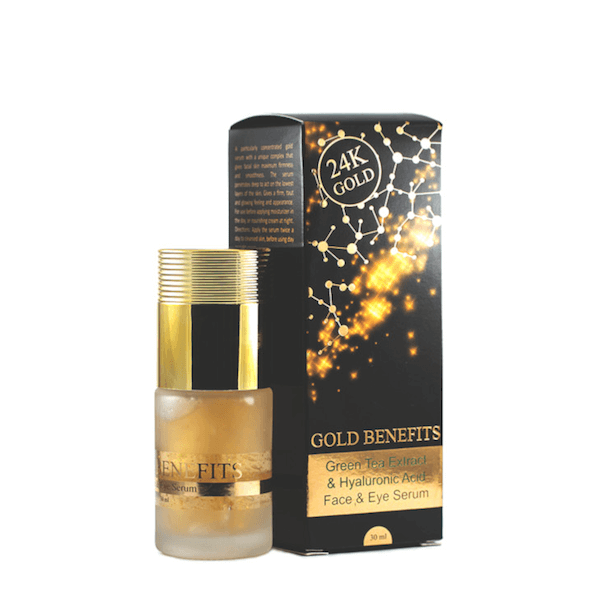 Gold Benefits  Face  Eye Serum