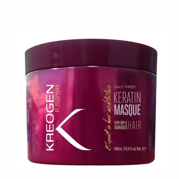 Salt Free Keratin Masque for Very Dry  Damaged Hair