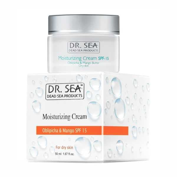 Moisturizing Cream for Dry Skin with Sea Buckthorn Oil  Mango SPF15