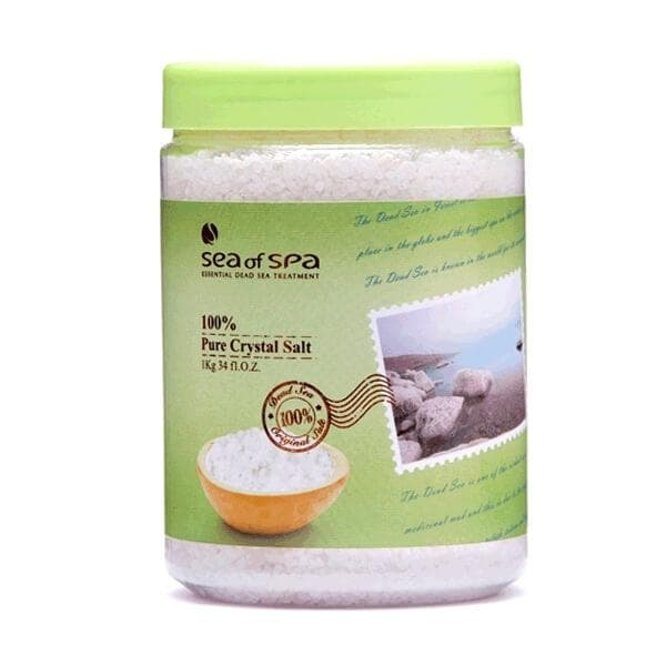 Natural Dead Sea Mineral Salt Crystals 1 kg