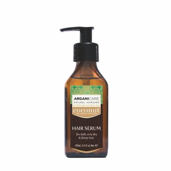 Coconut Hair Serum for Dull Very Dry  Frizzy Hair with Argan and Coconut Oil