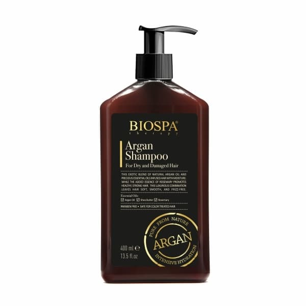 Bio Spa  Argan Shampoo for Dry  Damaged Hair