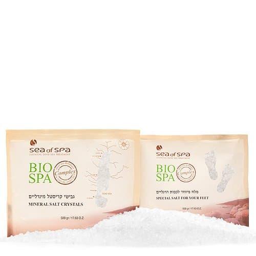Bio Spa  Dead Sea Mineral Salt for Feet