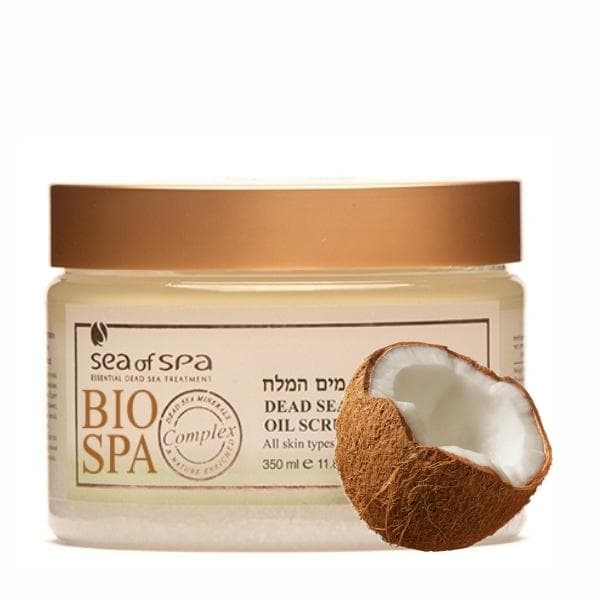 Bio Spa  Dead Sea Aromatic Oil Scrub Coconut