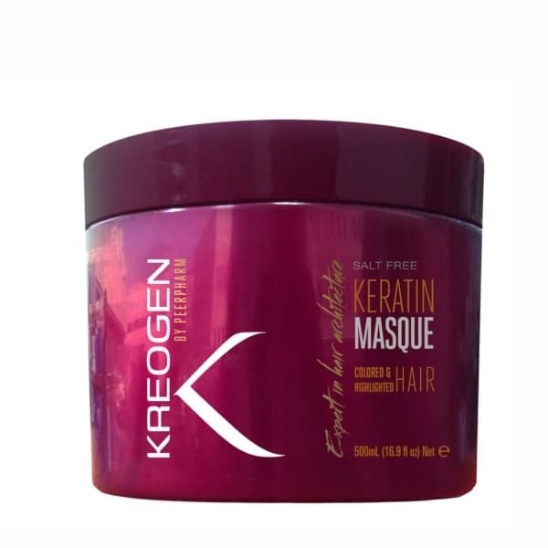 Salt Free Keratin Masque for Colored  Highlighted Hair