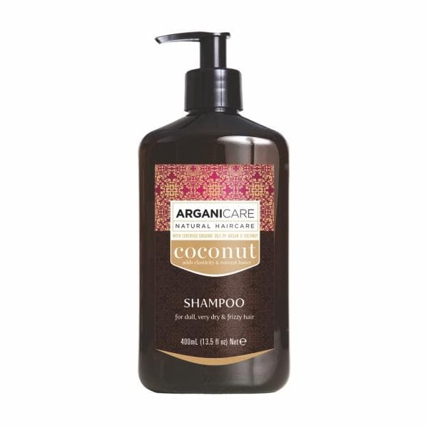 Coconut Shampoo for Dull Very Dry  Frizzy Hair with Argan and Coconut Oil