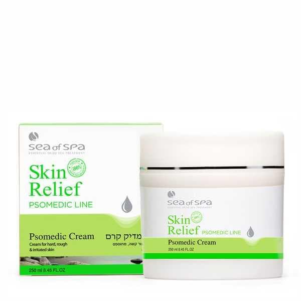 Skin Relief  Psomedic Cream for Rough and Irritated Skin 250ml