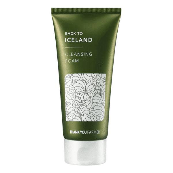 Back To Iceland Cleansing Foam with 22 Iceland Moss Extract
