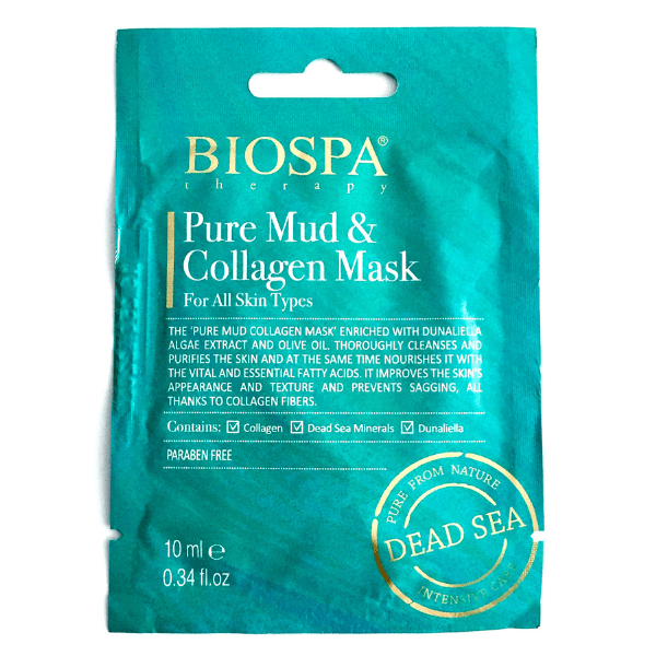 Bio Spa  Pure Mud  Collagen Mask 10ml