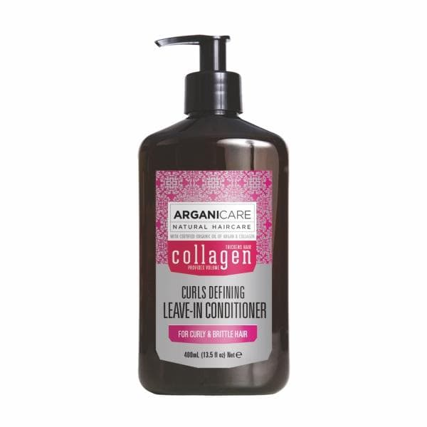 Collagen Curls Defining LeaveIn Conditioner for Curly  Brittle Hair with Argan Oil and Collagen