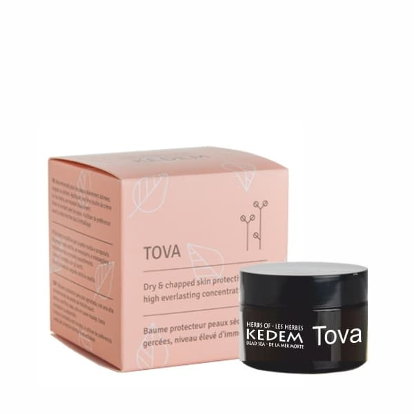 Tova  Protective Balm for Dry  Chapped Hands Heels and Elbows