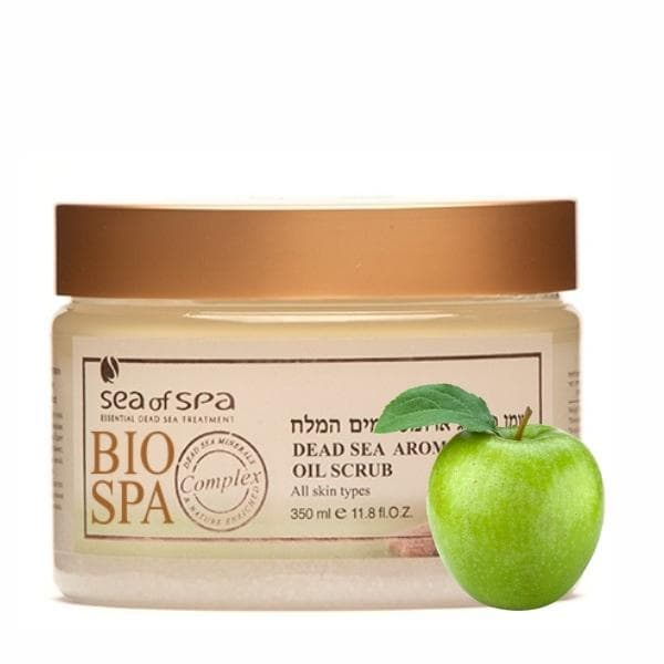 Bio Spa  Dead Sea Aromatic Oil Scrub Green Apple