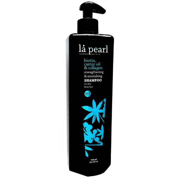 La Pearl  Shampoo for Thin  Dry Hair 750ml