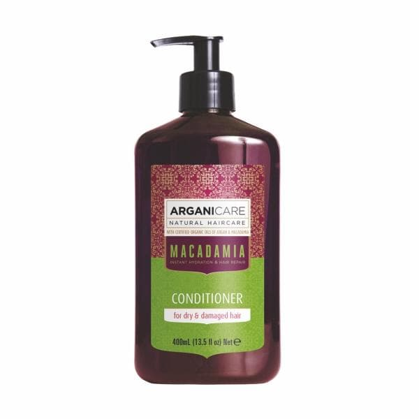 Macadamia Conditioner for Dry  Damaged Hair with Argan and Macadamia Oils